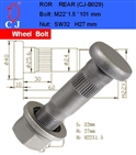 wheel stud for ROR
