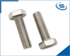 DIN931-1 half thread hex bolt